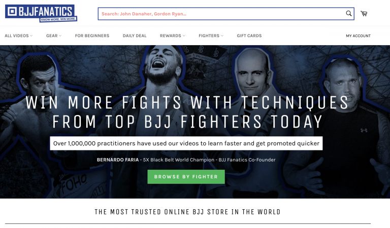 BJJ FANATICS screenshot